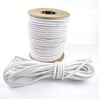 Wallace Cordage Company Shock Cord- White