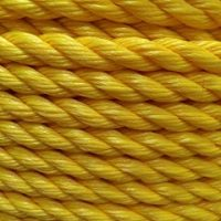 Twisted Polypropylene Rope- Yellow