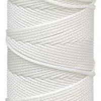 Wallace Cordage Company Braided Mason Line - White