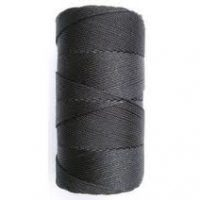 Wallace Cordage Company Rosary & Craft Twine Black