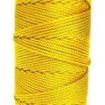Wallace Cordage Company Rosary & Craft Twine Yellow