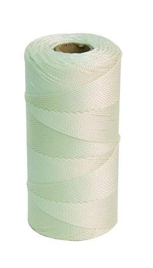 Wallace Cordage Company Twisted Mason Line- White