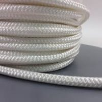 braided sash white