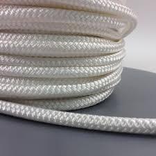 braided sash white